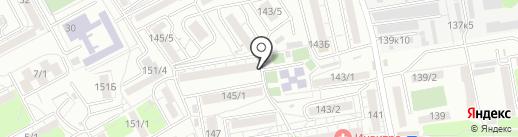 Тюльпан, ЖСК на карте Ростова-на-Дону