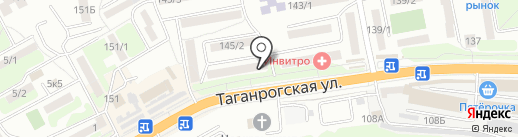 Альфа-6 на карте Ростова-на-Дону