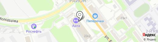 МускулШоп на карте Рязани