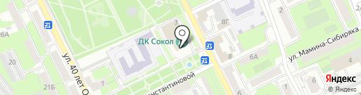 Народный хор Сокольских металлургов на карте Липецка