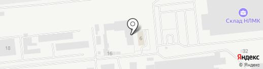 Областной сборный пункт Военного Комиссариата Липецкой области на карте Липецка