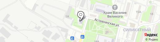Детский сад №19 на карте Липецка