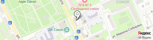 Век-Авто на карте Липецка
