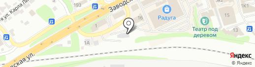 Ясеневка48 на карте Липецка