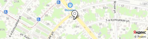 PaAvto на карте Ростова-на-Дону