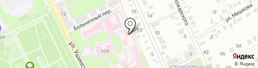 Свободный Сокол на карте Липецка