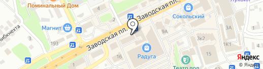 Сокольский совет ветеранов на карте Липецка