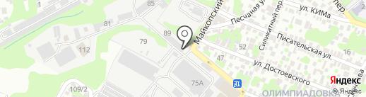 ЭНЕРГОПОЛИС на карте Ростова-на-Дону
