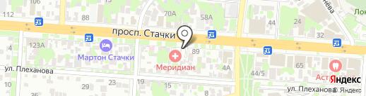Шашлычная на карте Ростова-на-Дону