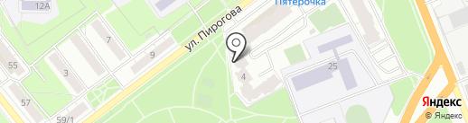 Ново Пирогово, ТСН на карте Рязани