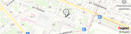 Гарантия на карте Ростова-на-Дону
