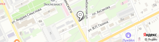 Русский невод на карте Липецка