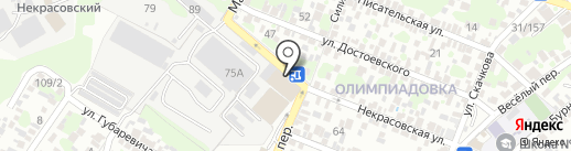 RnD Stroy на карте Ростова-на-Дону