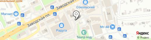 Магазин фастфудной продукции на карте Липецка