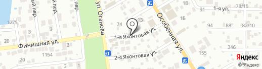 ДвинаЛесСтрой на карте Ростова-на-Дону