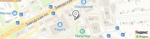Магазин по продаже зерна на карте Липецка