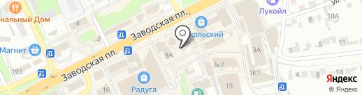 Воздушная фантазия на карте Липецка