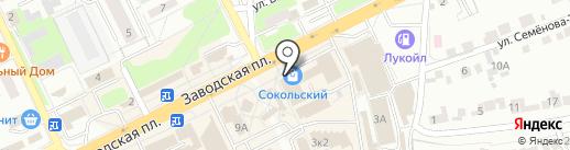 Smartbox на карте Липецка