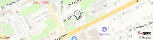 Сервисный центр на карте Липецка