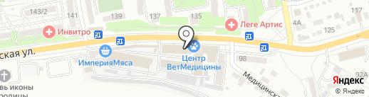 Салон мебели на карте Ростова-на-Дону