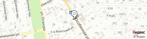 Компания по резке стекла и зеркал на карте Ростова-на-Дону