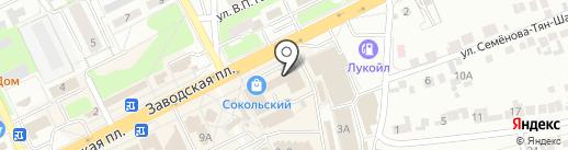 Совкомбанк на карте Липецка