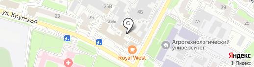 РГС-Медицина на карте Рязани