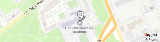 Рязанский политехнический колледж на карте Рязани