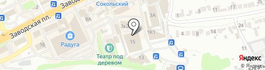 Ателье по ремонту одежды на Заводской площади на карте Липецка