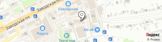 Жалюзи-48 на карте Липецка
