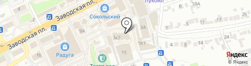 1XBet на карте Липецка
