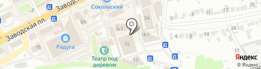 Мебель России на карте Липецка