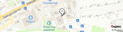 Маникюрный кабинет на карте Липецка