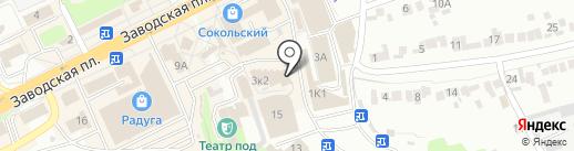 Славянка на карте Липецка