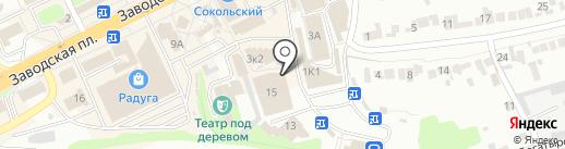 Царь Колбаска на карте Липецка