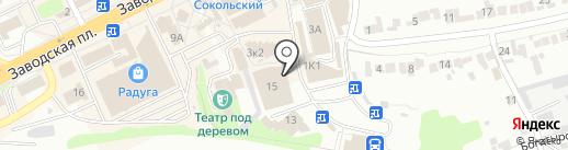 Хозяюшка на карте Липецка