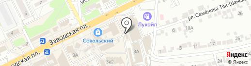 Магазин овощей и фруктов на карте Липецка
