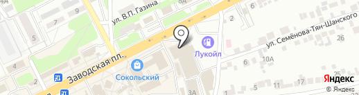 Аптека на карте Липецка