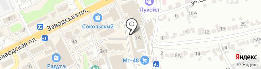 Улыбка на карте Липецка