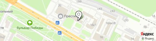 Мировые судьи Московского района на карте Рязани