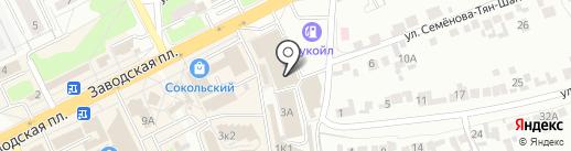 Магазин мужской одежды на карте Липецка