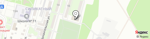 Почтовое отделение №11 на карте Липецка