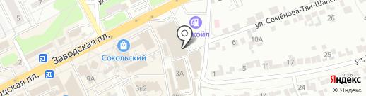 Магазин детских товаров на карте Липецка