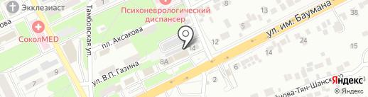MIX Лидер на карте Липецка