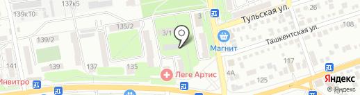 Автосервис по тонированию и ремонту автостекол на карте Ростова-на-Дону