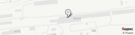 Орион-М на карте Липецка