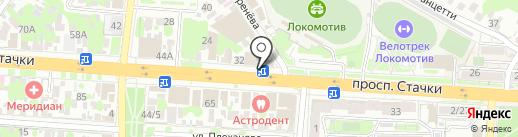 СМЕШНЫЕ ЦЕНЫ на карте Ростова-на-Дону