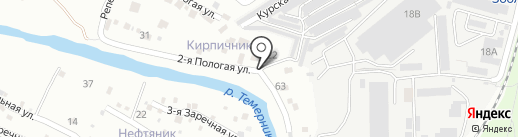 РАУС-Строй-1 на карте Ростова-на-Дону