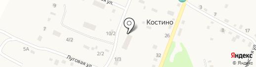 Фельдшерско-акушерский пункт на карте Костиного