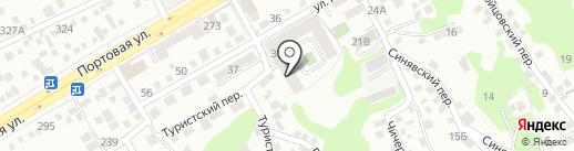 Ривер-Хаус на карте Ростова-на-Дону